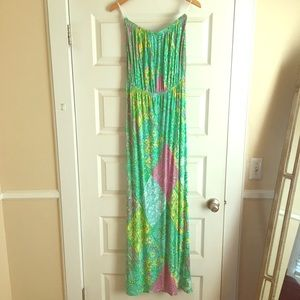 GET BY EASTER! Lilly Pulitzer Strapless Maxi